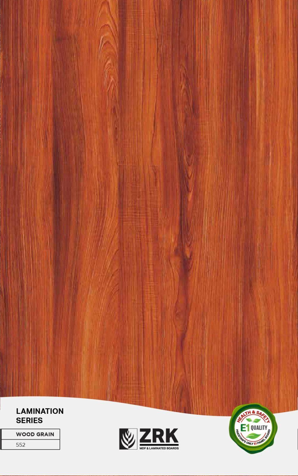 Lamination - Wood Grain - 552